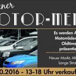 Motor-Meile am 9.10.2016 – verkaufsoffener Sonntag